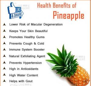 Organic Pineapple Juice Benefits