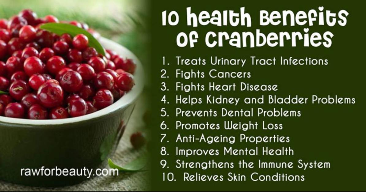 benefits of organic cranberry juice