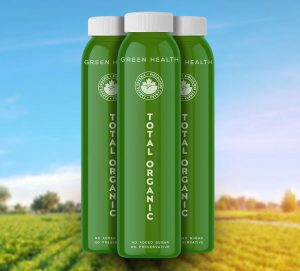 HPP Organic Vegetable Juice by total organic